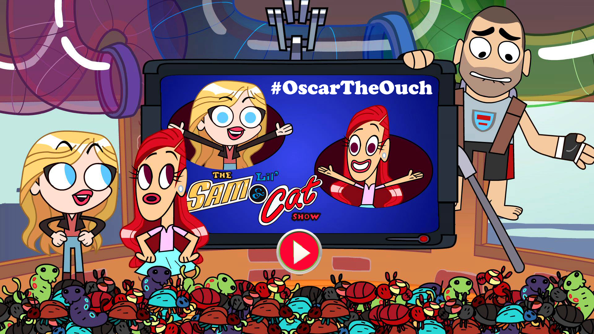 Lil' Sam & Cat Show: #OscarTheOuch