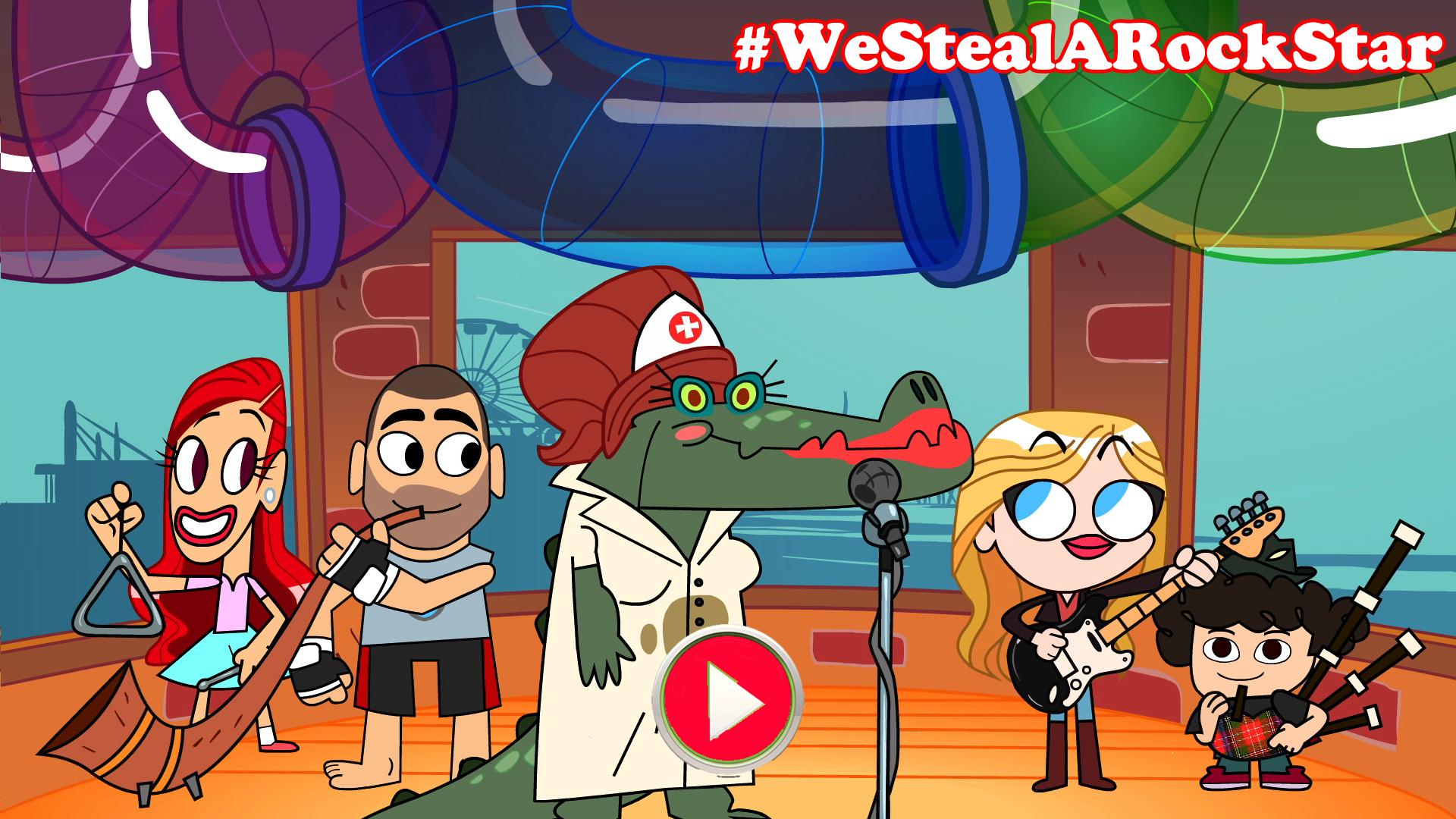 #WeStealARockStar